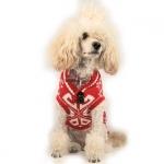 Pullover für Hunde im Winter Fantasie in Rot