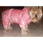 Rosa Gepolstert Hundebody