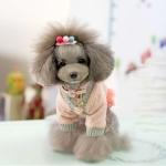 Jersey Rosa para Perro con Falda en Tul