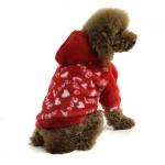Sudadera en forro polar para Perros Pequeños Apple Roja