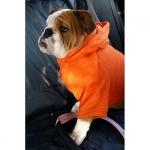 Orange Sweatshirt für Große Hunde
