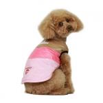 Hundemantel Fleece in Rosa für kleine Hunde