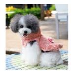 Mantel in Kunstpelz Rosa für Hunde