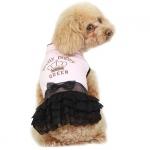 Vestido Elegante Princesa en Rosa para Perro