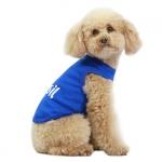 Camiseta Perros Pequeños I LOVE BRASIL Azul