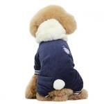 Anzug für Hunde Glück Blau