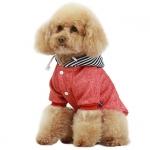 Sudadera New York Roja con Capucha Perro Pequeño