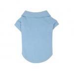 Hellblau Poloshirt für Hunde