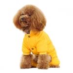 Winteranzug 4 Pfoten für Kleine Hunde in Gelb
