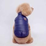 Wendemantel für kleine Hunde in Blau