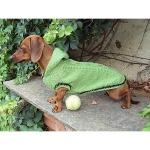 Grün Pullover für Dachshund