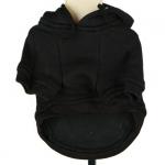 Schwarze Sweatshirts für Hunde