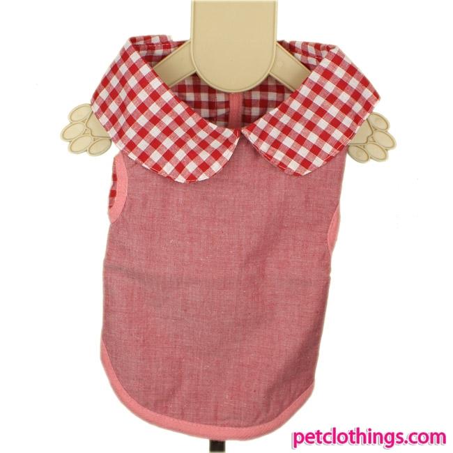 Pink Baumwolle Hundemäntel