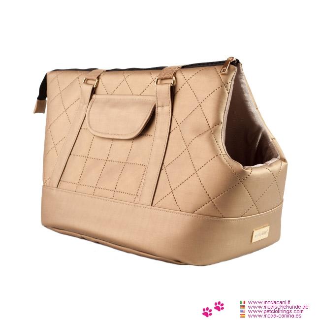 Deluxe Tasche für kleine Hunde Venus Gold