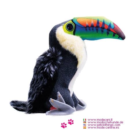Strapazierfähiges Hundespielzeug aus Canvas - Tukan