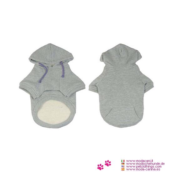 Grau Hoodie für Dachshund