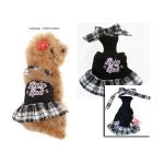 Trendige Kleid für Hunde Lucky Schwarz