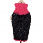 Black and Red Sweater for Dog