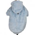 Samtig Hellblau Sweatshirts für Hunde