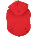 Sweat-Shirt Uni Rouge pour Grands Chiens