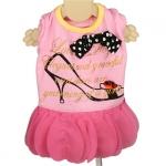 Elegant Kleid für Hündinnen in rosa