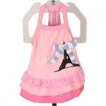 Rosa Kleid für Hündinnen Modell Pariser