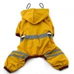 Gelbsenf Regenmäntel 4 Pfoten für kleine Hunde