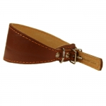 Windhund Halsband aus Leder Braun