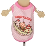 Pink Tank Top for Dogs Sweet & Cute