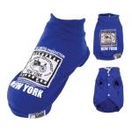 Sweatshirt für Hunde ohne Kapuze in Blau