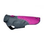 Regenmäntel für Hunde mit Klettverschluß in Violet