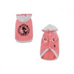 Leichte Sweatshirt Princess für kleine Hunde in Rosa Pastell