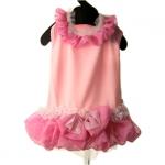 Rosa Kleid Jacqueline für Hund