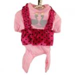 Pijama Rosa para Chihuahua y Perros Pequeños