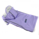 Lilac Raincoat Small Dogs with Velcro