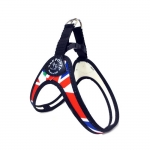 1 Click Harness Small Dogs with UK Flag