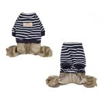 Anzug aus Baumwolle für kleine Hunde