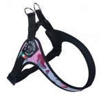 Harness Small Dogs in Pink Camo Adjustable on the Belly
