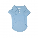 Light Blue Polo Shirt for Dogs