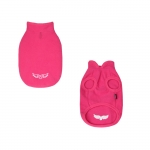 Fleece without Hood for Small Dogs in Magenta