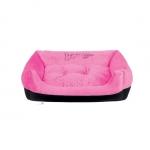 Abnehmbar Hundebett für mittelgroße Hunde in Rosa