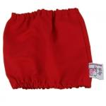 Snood für Hunde in Rot aus Baumwolle