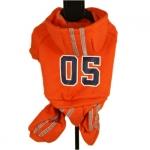 Trainingsanzug 05 Orange für kleinen Hund