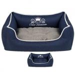 Abnehmbar Hundebett für kleine und mittelgroße Hunde in Blau