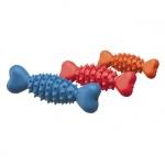 Gummiknochen für Hund mit Spitzen