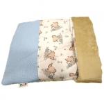 Blau Schlafsack für kleinen Hund mit Schmetterlingen