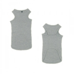 Gray Tank Top for Dachshund