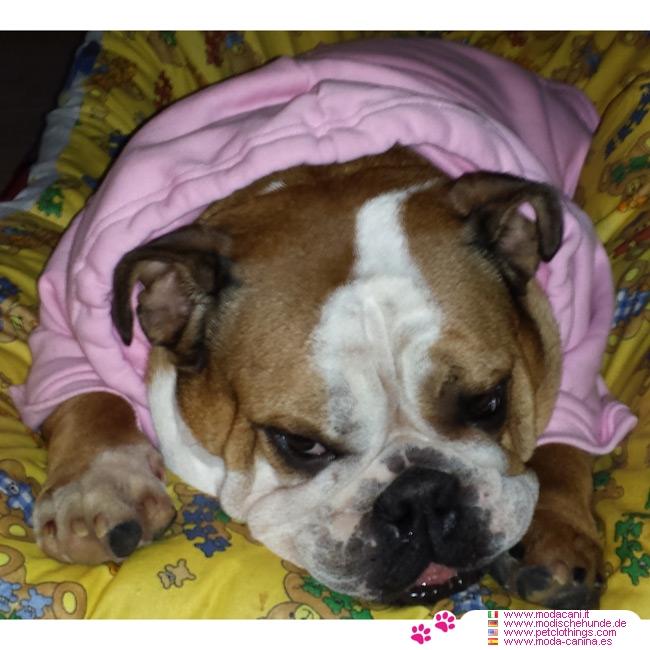 Felpa rosa per cani di taglia grande for Recinto per cani taglia grande