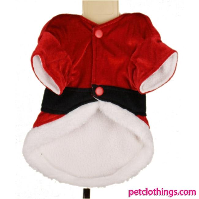 Traje de Santa Claus para Perros, abrigo de Papà Noel para