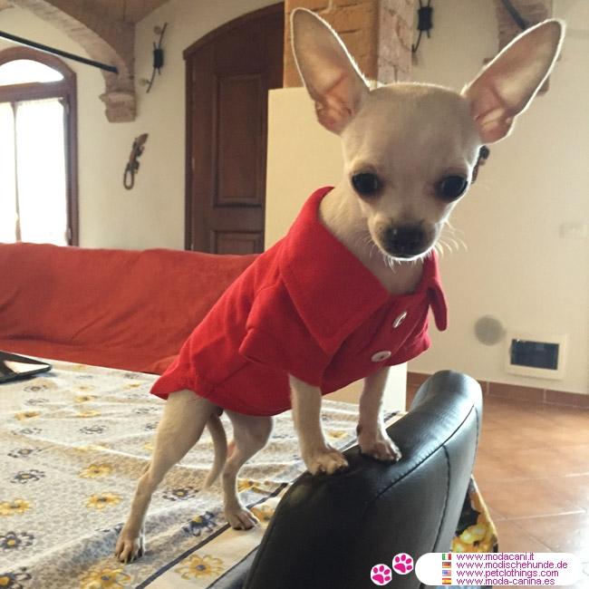 Maglietta Rossa Polo Per Cani Per Maglietta Polo Rossa Maglietta Per Cani Rossa Polo AqR54L3j
